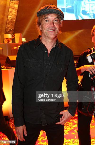 Campino singer Tote Hosen during the LEA Live Entertainment Award 2015 at Festhalle Frankfurt on April 14 2015 in Frankfurt am Main Germany