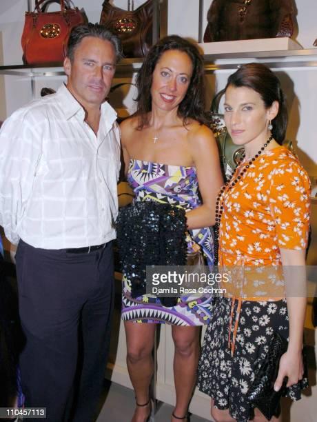 Campion Platt, Tatiana Platt and Jessica Seinfeld during Gucci Celebrates The Opening of The New East Hampton Store - June 3, 2006 at Gucci Store in...