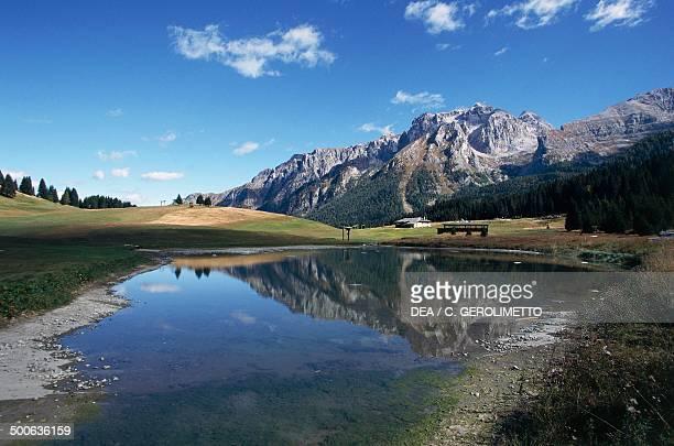 Campo Carlo Magno, Madonna di Campiglio, Trentino-Alto Adige, Italy.