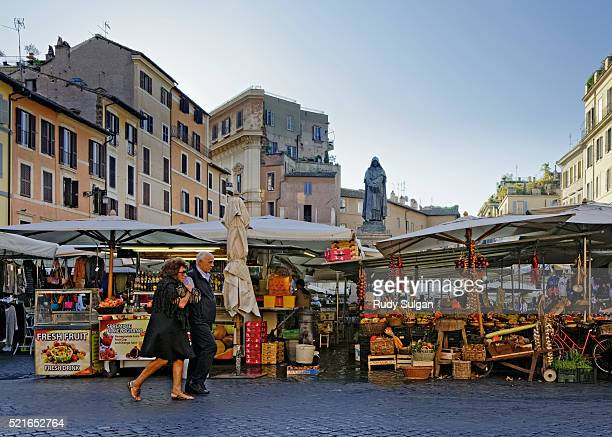 campo de' fiori in rome, italy - campo stock pictures, royalty-free photos & images