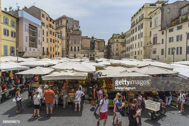 Campo de' Fiori, the market