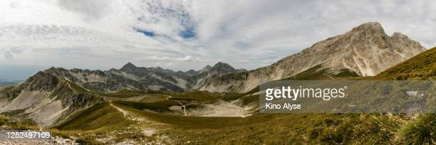 campo imperatore - parco nazionale d'abruzzo foto e immagini stock