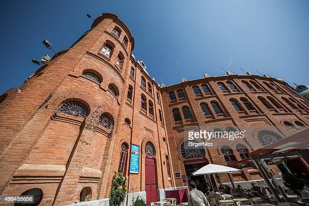 campo pequeno, lisbons bullring, portugal - campo stock pictures, royalty-free photos & images