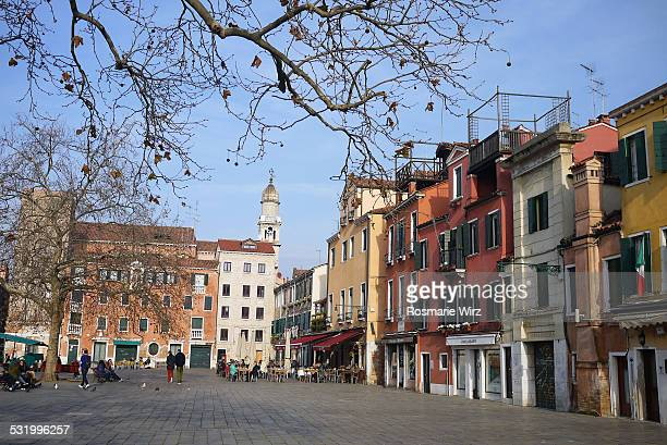campo santa margherita - campo stock pictures, royalty-free photos & images