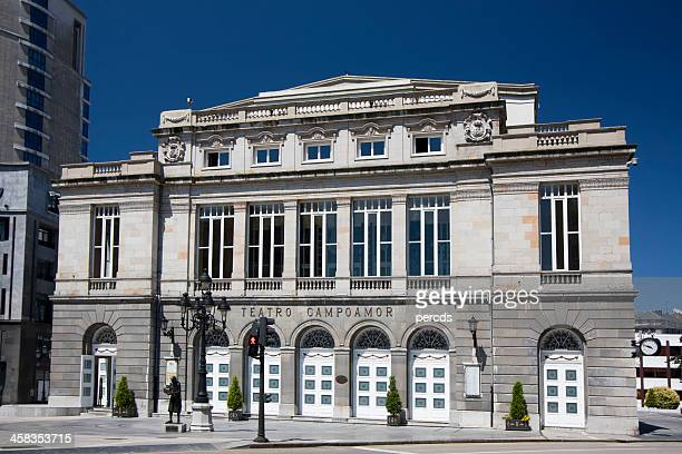 campoamor theatre, oviedo. - oviedo stock pictures, royalty-free photos & images