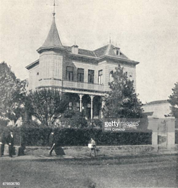 Campos Elyseos' 1895 Casas Particulares em S Paulo From Sao Paulo by Gustavo Koenigswald [S Paulo 1895] Artist Oscar Ernheim