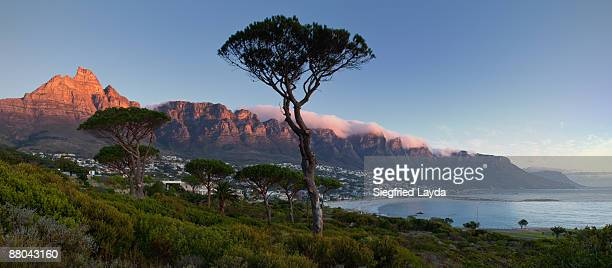 Camps Bay and Twelve Apostles at sunset