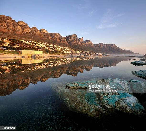 Camps bay reflected