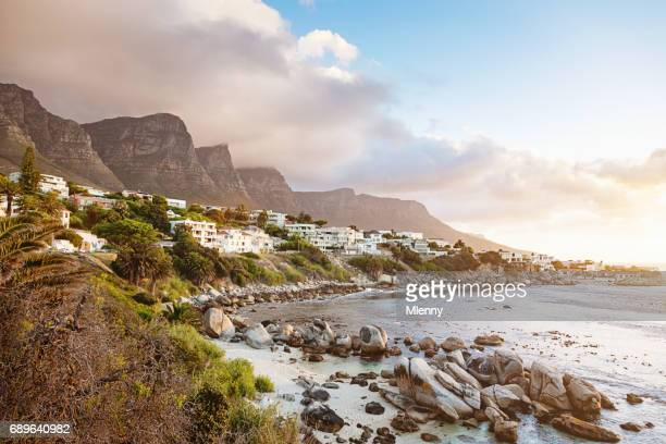Camps Bay Sunset Twilight Cape Town South Africa