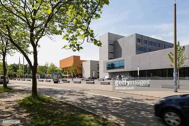 Campus der Hochschulgebäude University Chemnitz