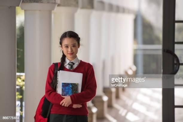 Campus girl student