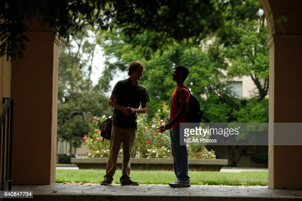 Campus Life photos taken at the California Institute of Technology in Pasadena CA Jamie Schwaberow/NCAA Photos via Getty Imagess via Getty Images...