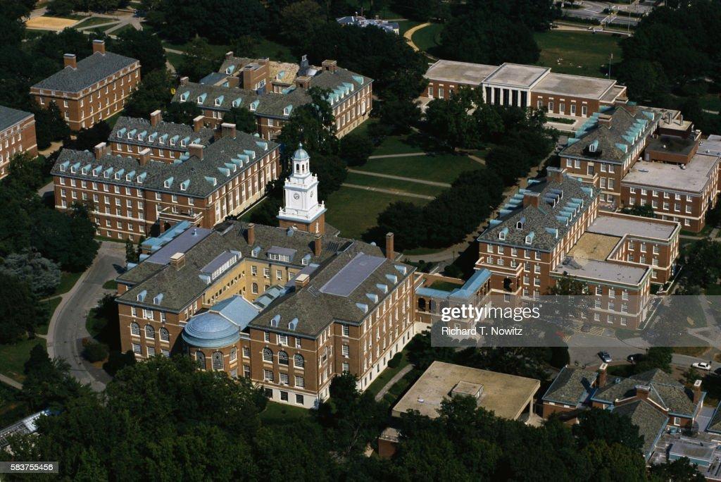Campus of Johns Hopkins University : ストックフォト