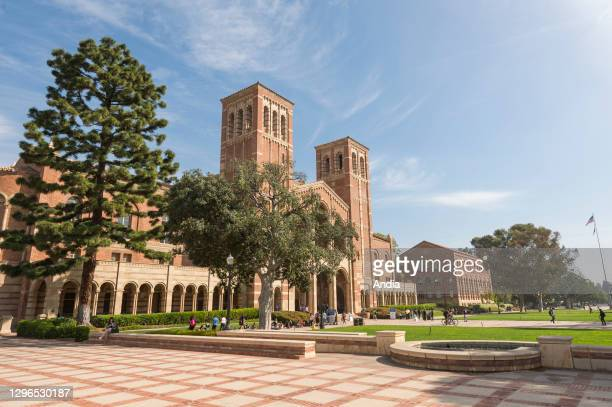 Campus of the University of California, UCLA, in Los Angeles, California, USA.