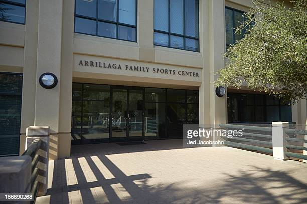 Exterior view of Arrillaga Family Sports Center building on Stanford University campus Palo Alto CA CREDIT Jed Jacobsohn