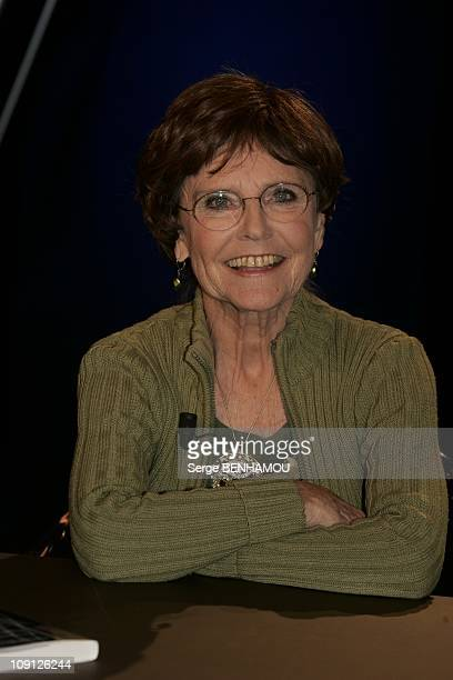 Campus Tv Show On October 28 2004 In Paris France Catherine Robbe Grillet