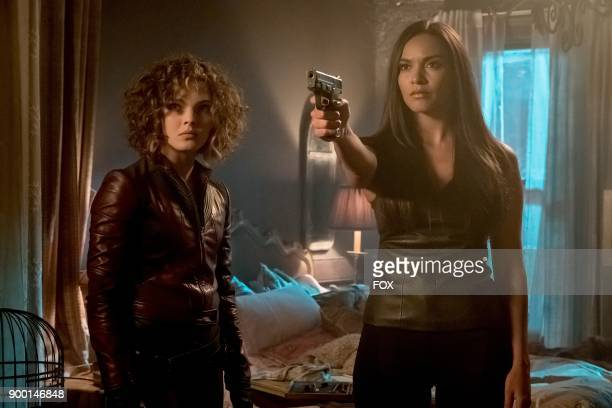 Camren Bicondova and Jessica Lucas in 'The Fear Reaper' episode of GOTHAM airing Thursday Sept 28 on FOX