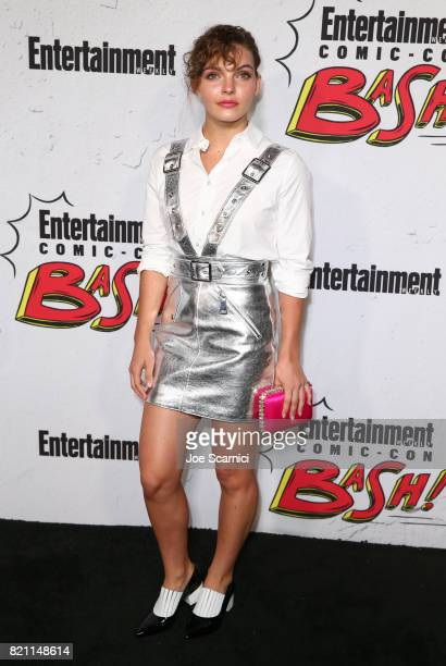 Camren Bicondova at Entertainment Weekly's annual Comic-Con party in celebration of Comic-Con 2017 at Float at Hard Rock Hotel San Diego on July 22,...