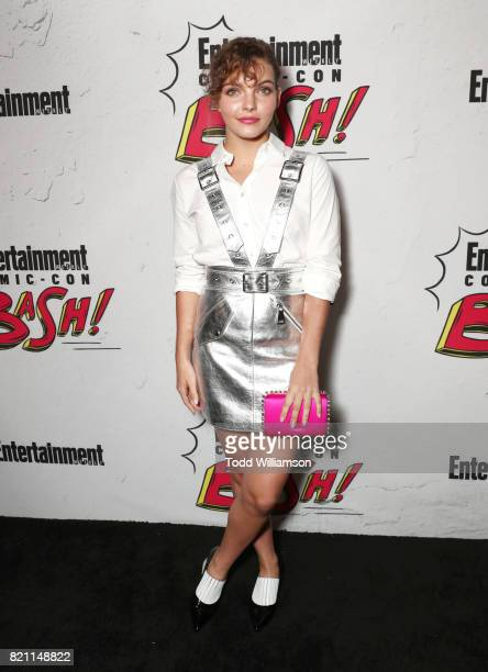 Camren Bicondova at Entertainment Weekly's annual ComicCon party in celebration of ComicCon 2017 at Float at Hard Rock Hotel San Diego on July 22...