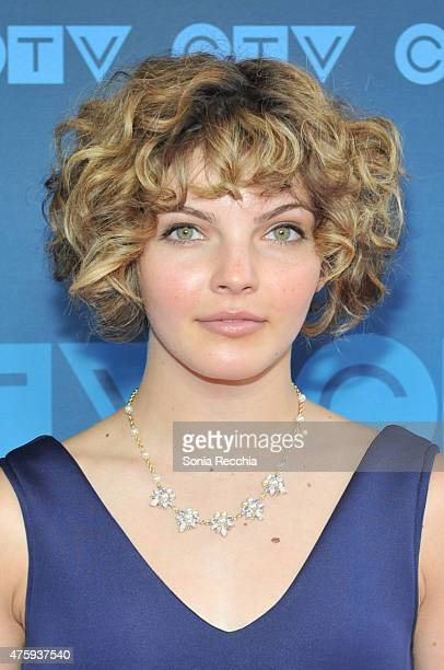 Camren Bicondova attends CTV Upfront 2015 Presentation at Sony Centre For Performing Arts on June 4 2015 in Toronto Canada