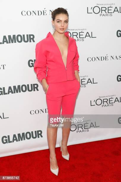 Camren Bicondova attends the 2017 Glamour Women Of The Year Awards at Kings Theatre on November 13 2017 in New York City