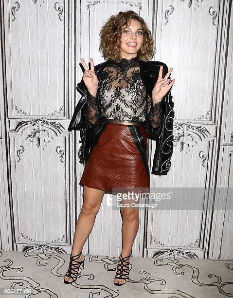 Camren Bicondova attends The BUILD Series to discuss Gotham at AOL HQ on September 16 2016 in New York City