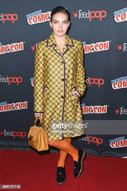 Camren Bicondova attends the Gotham Panel 2017 New York Comic Con on October 8 2017 in New York City