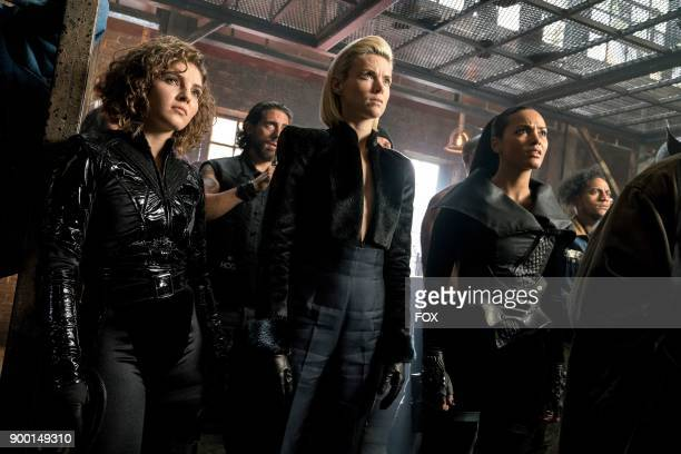 Camren Bicondova Erin Richards and Jessica Lucas in the 'A Dark Knight Stop Hitting Yourself' episode of GOTHAM airing Thursday Nov 9 on FOX