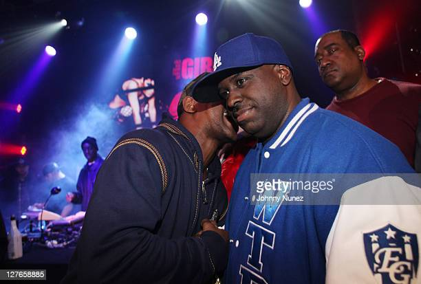 Cam'ron and Funkmaster Flex attend Girls Night Out at Webster Hall on March 31 2011 in New York City