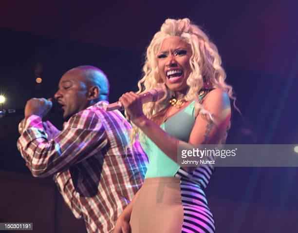 Cam'ron and Nicki Minaj perform at Roseland Ballroom on August 14 2012 in New York City