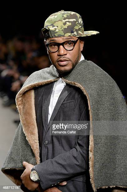 Cam'ron attends the Mark McNairy New Amsterdam runway during MercedesBenz Fashion Week Fall 2014 at Eyebeam on February 11 2014 in New York City