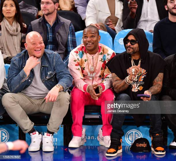 Cam'ron attends Utah Jazz v New York Knicks at Madison Square Garden on March 4, 2020 in New York City.