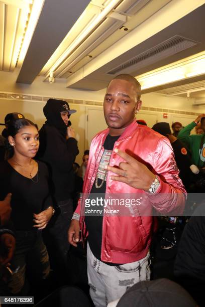 Cam'ron backstage at The Apollo Theater on March 4 2017 in New York City