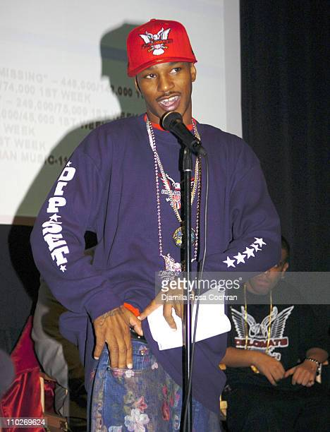 Cam'ron during Cam'Ron Press Conference - January 25, 2006 at Tribeca Cinemas in New York City, New York, United States.