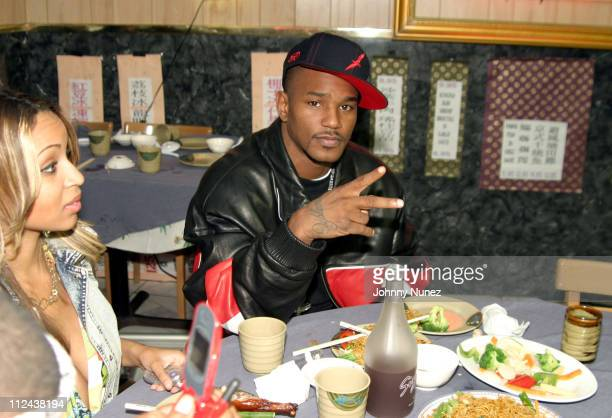 """Cam'Ron during Diplomat's """"Santana"""" Video Shoot - October 23, 2004 at Capitale in New York City, New York, United States."""