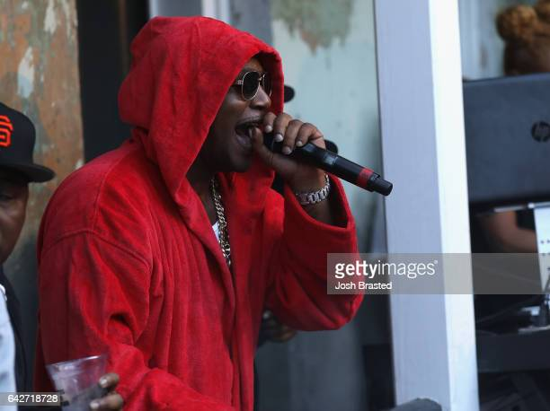 Cam'ron performs as Reebok Classic and Footaction host a star-studded concert with Cam'ron, Teyana Taylor and Curren$y on February 18, 2017 in New...