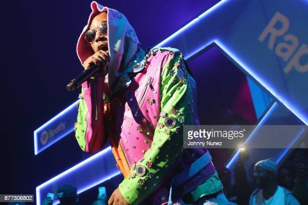Cam'ron performs at Spotify's RapCaviar Live in New York at Hammerstein Ballroom on November 21 2017 in New York City