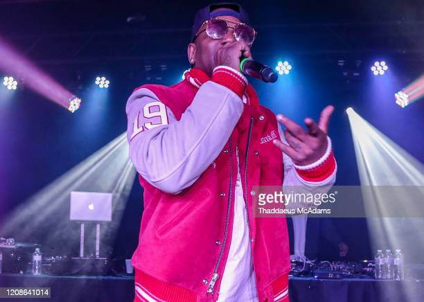Cam'ron performs at The Basement East on on February 22, 2020 in Nashville, Tennessee.