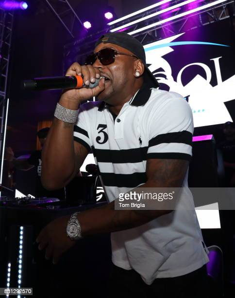 Cam'ron performs at The Pool After Dark at Harrah's Resort on Saturday August 12 2017 in Atlantic City New Jersey