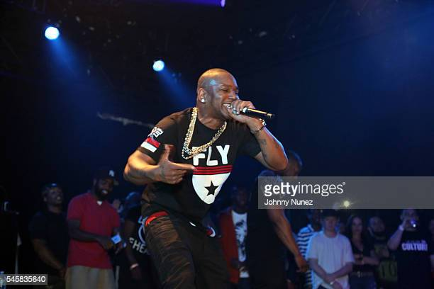 Cam'ron performs during The Smokers Club concert event at Crosby Hotel on July 9 2016 in New York City