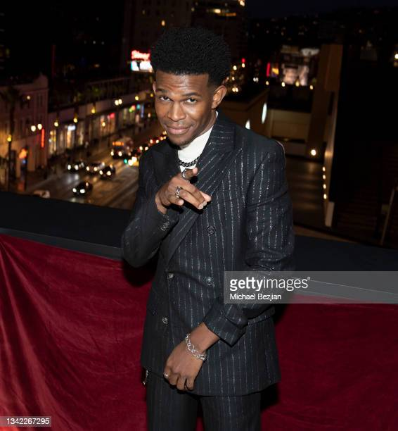 Camrus Johnson arrives at 17th Annual Oscar-Qualifying HollyShorts Film Festival Opening Night at Japan House Los Angeles on September 23, 2021 in...