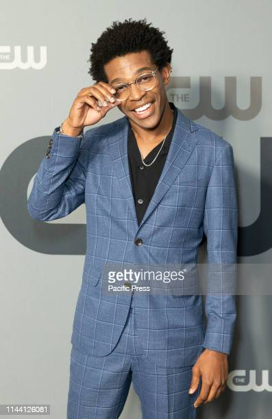 Camrus Johnson attends CW Network Upfront at New York City Center