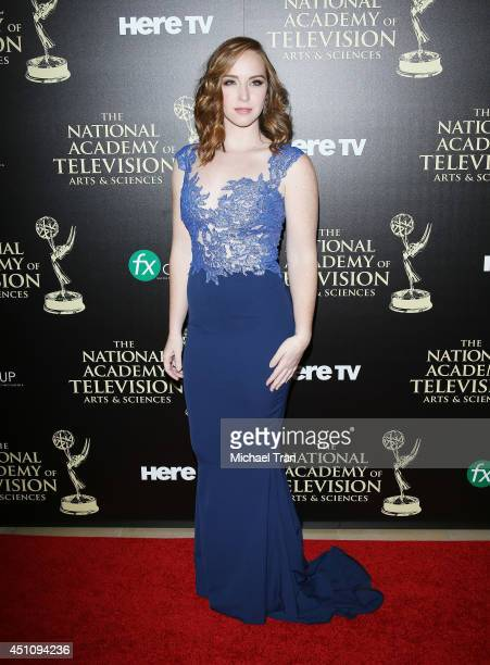 Camryn Grimes arrives at the 41st Annual Daytime Emmy Awards held at The Beverly Hilton Hotel on June 22 2014 in Beverly Hills California