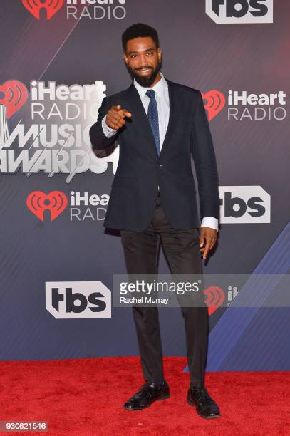 Camryn Howard arrives at the 2018 iHeartRadio Music Awards which broadcasted live on TBS TNT and truTV at The Forum on March 11 2018 in Inglewood...