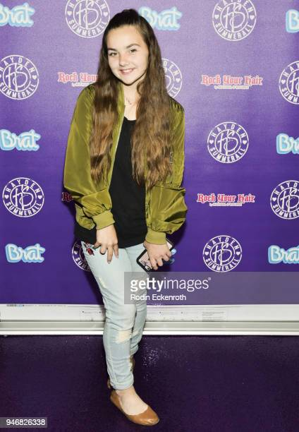 Camryn Logoteta attends Hayden Summerall's 13th Birthday Bash at Bardot on April 15 2018 in Hollywood California