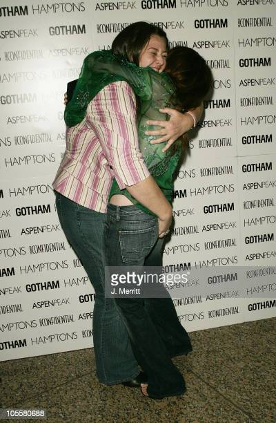 Camryn Manheim and Debra Messing during Los Angeles Confidential Celebrates Gotham Magazine Cover Star Debra Messing at The Maple Drive Atrium in...