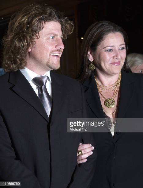 Camryn Manheim and guest during 16th Annual Night of 100 Stars Gala - Arrivals at Beverly Hills Hotel in Los Angeles, California, United States.