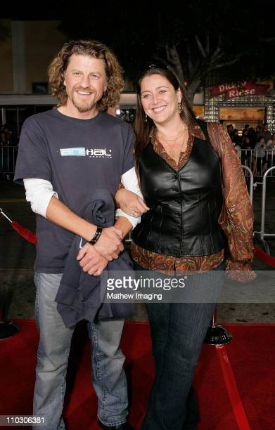 """Camryn Manheim and Patrick Davenport at the premiere of """"The Heartbreak Kid"""" at Mann's Village Theater on September 27, 2007 in Westwood, California."""