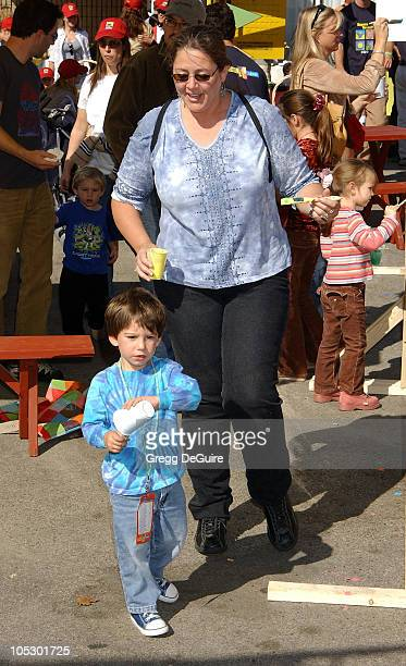 Camryn Manheim and son Milo during PS ARTS and Old Navy Welcome Celebrities And Their Families to A Creativity Street Fair Benefiting Arts Education...