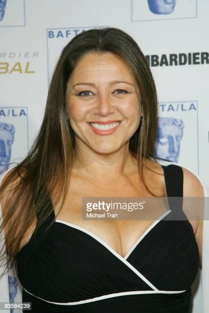 Camryn Manheim arrives to the 17th Annual BAFTA Los Angeles Britannia Awards held at the Hyatt Regency Century City Plaza Hotel on November 6, 2008...